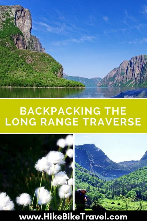 Backpacking the Long Range Traverse in Newfoundland