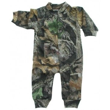 Baby Boys Camouflage Creeper