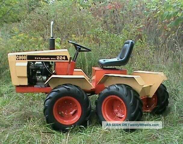Pin By Allen Cooper On Case Ingersol Garden Tractors Tractors