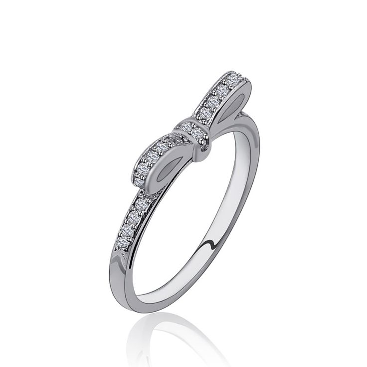 Wedding Rings For Women Silver Plated Crystal Midi Ring Engagement CZ Diamond Fashion Jewelry Female Gifts Bague Ringen Anillos