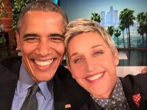 FULL INTERVIEW Ellen Show FEB1216 OBAMA On ELLEN In