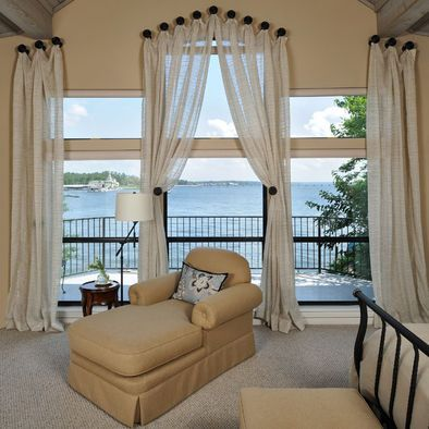 Great Design for Hanging Draperies or Sheers