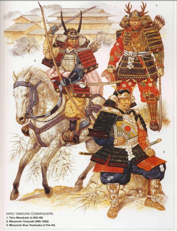 Samurai c. 900-1180 AD