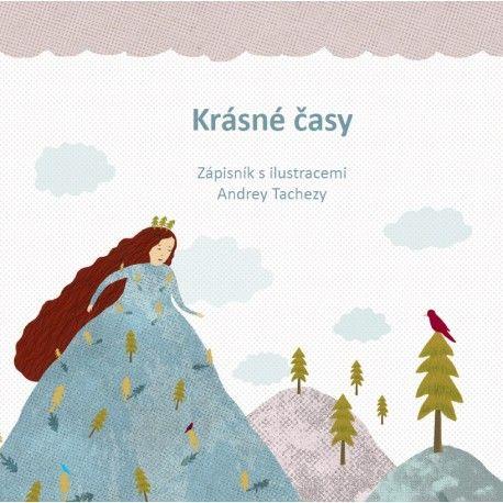 Zápisník s ilustracemi Andrey Tachezy