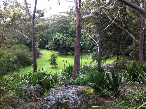 Botanic Gardens in the Booderee National Park