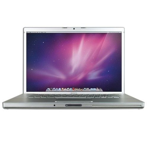 Apple MacBook Pro Core 2 Duo T7500 2.2GHz 6GB 240GB SSD DVD ±RW GeForce 8600M 15.4 Notebook AirPort OSX w/Cam (2007) - B