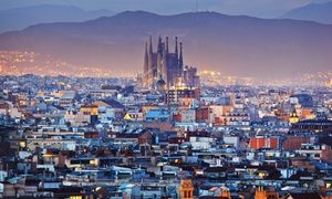 Groupon - ✈ 8-Day Vacation in London and Barcelona with Air from go-today. Price per Person Based on Double Occupancy. in United Kingdom and Spain. Groupon deal price: $899