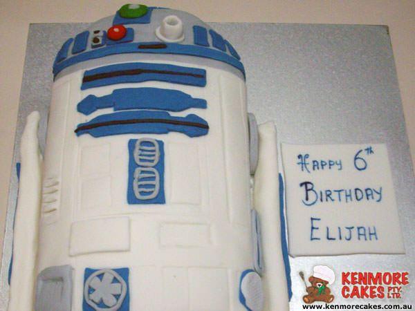 Star Wars - R2D2 Birthday Cake