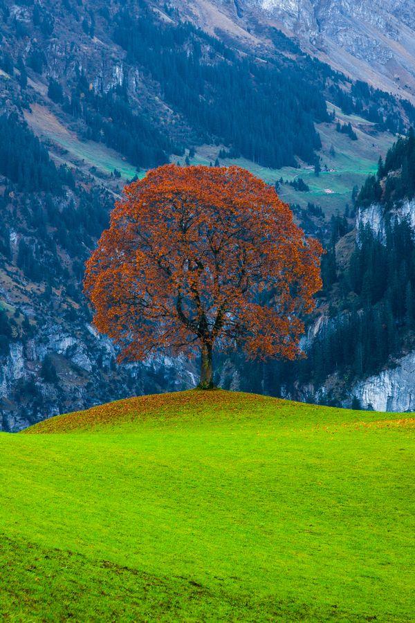 Klasenpass Mountains in Switzerland