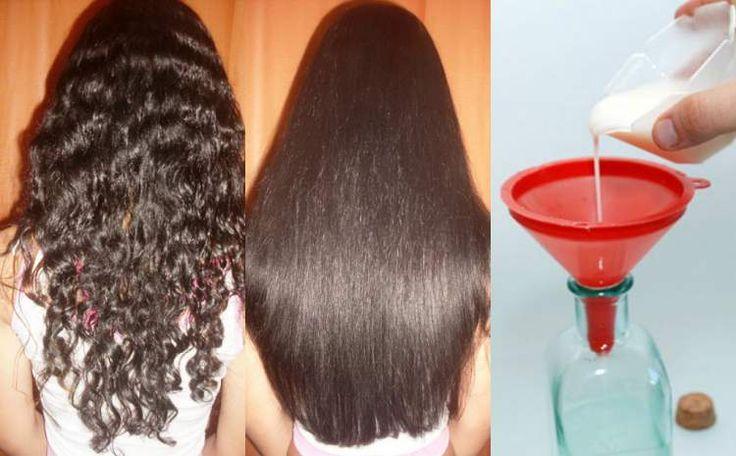 Aprenda fazer um poderoso shampoo caseiro para alisar o cabelo. Descubra como fazer um alisamento natural e evitar a química que agride os fios.