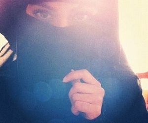 Beautiful niqabi