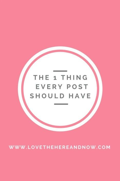 Why You Should Add Dates to Your Blog Posts www.lovethehereandnow.com
