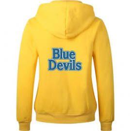 Duke Blue Devils Logo Yellow Long Sleeve Hoody