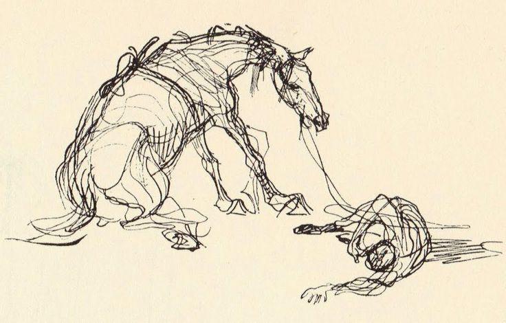 heinrich contour drawings