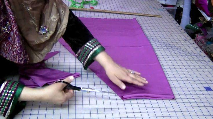 Simple Salwar Cutting