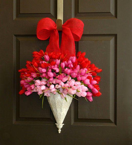 Valentines Day Wreath valentines day valentines day crafts valentines day ideas diy valentines day crafts valentines day decoration ideas valentines day wreath valentines day decorations crafts for valentines day valentines diy decorations