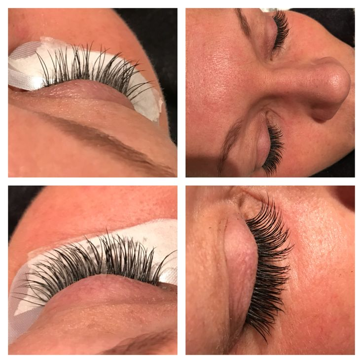 4 weeks later.. Lash extention, C 20, 0.11mm.