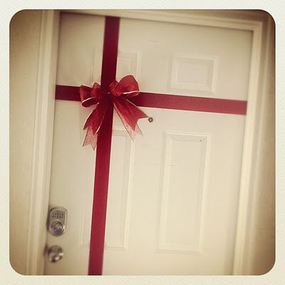 A cute idea for interior doors for those who like to decorate through out the whole house.