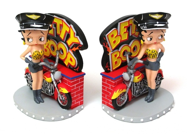Art Deco Betty Boop Bookends!