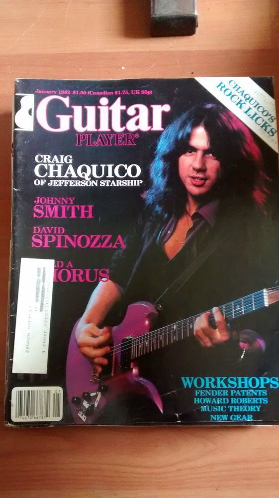 Guitar Player Mag good condition January 1982