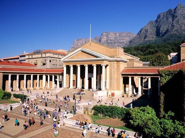 University of Cape Town Photograph by Bertrand Rieger/Hemis/Corbis