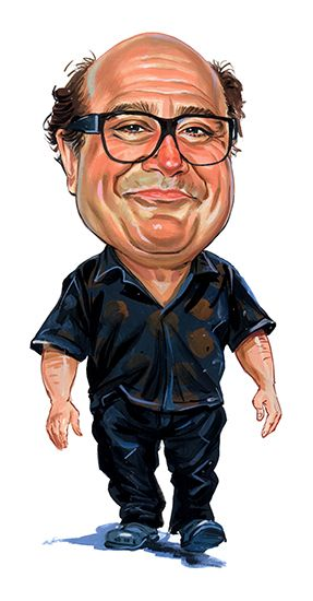 Danny DeVito ...artwork by ExaggerArt http://exagger-art.artistwebsites.com/