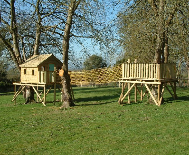8 best images about kids tree house on pinterest kid for Treeless treehouse