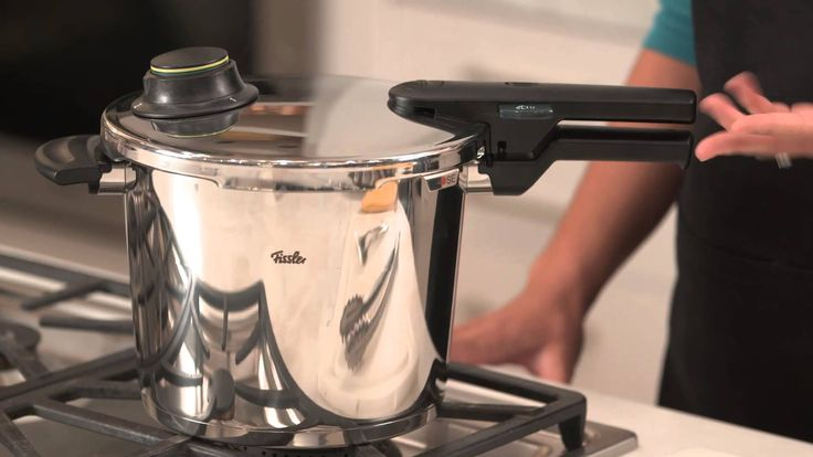 Cook simmered recipes like stews and braises up to 70 percent faster with the Fissler Vitavit Pressure Cooker. Two adjustable cooking levels have you covered...