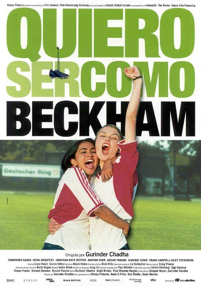 Quiero ser como David Beckham (2002) Reino Unido. Gurinder Chadha. Comedia. Romance. Adolescencia. Migración. Feminismo - DVD CINE 1387