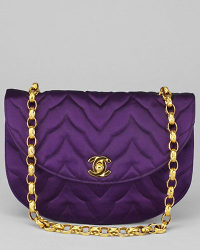 Like a boss. Chanel Amethyst Satin Evening Bag. From the creator of Sex and The City, 'Younger' stars Sutton Foster, Hilary Duff, Debi Mazar, Miriam Shor and Nico Tortorella. Discover full episodes at http://www.tvland.com/shows/younger.