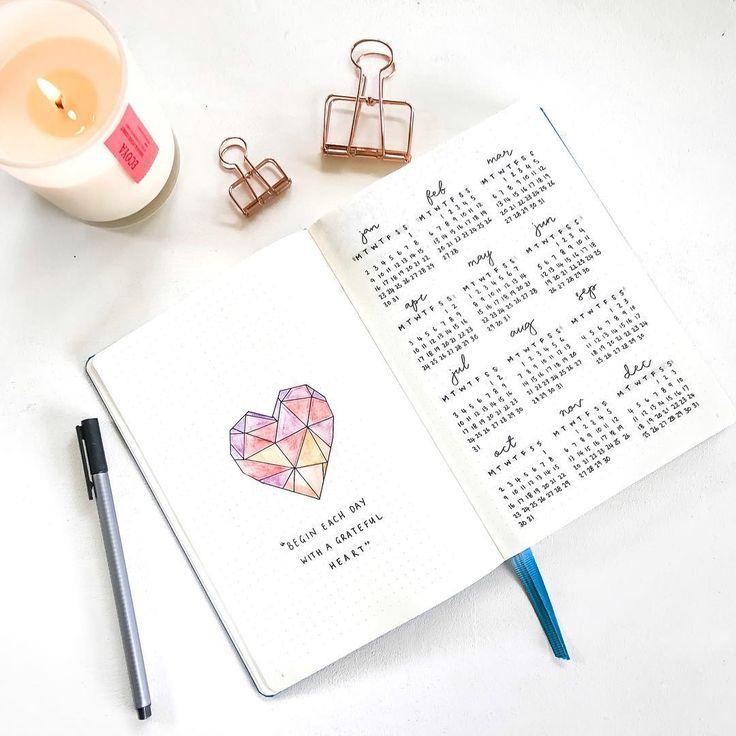 Inspirations Bullet Journal : 10 comptes à suivre de toute urgence !
