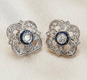 earrings - @Bethany Hunt...these perfectly match your engagement ring. Pretty!!!
