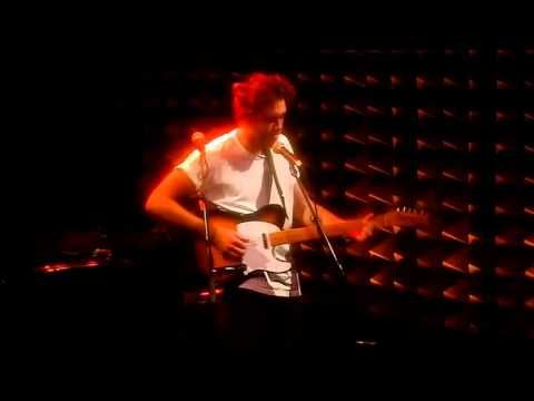 Matt Corby Live @ Joe's Pub NYC - his first NYC show ever 8-21-12