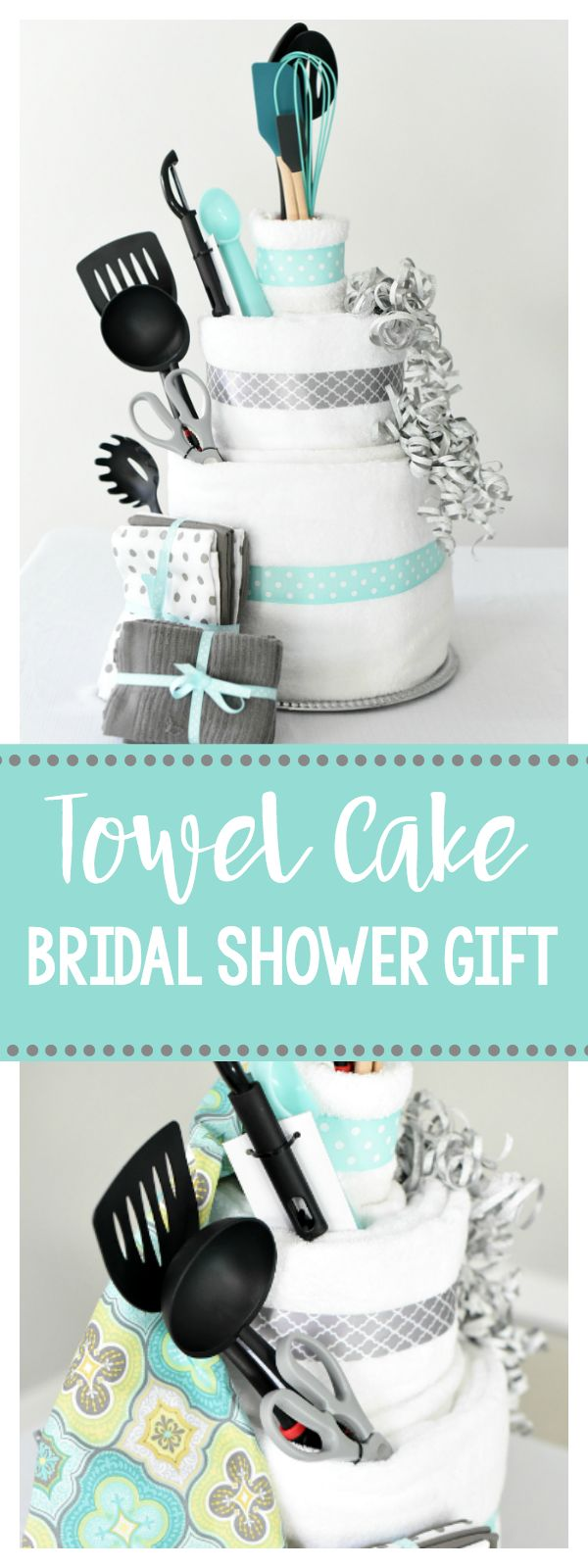 Towel Cake: A Fun DIY Bridal Shower Gift that She Will LOVE!