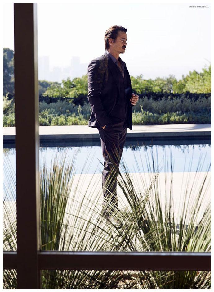 Colin Farrell Dons Dolce & Gabbana for Vanity Fair Italia Cover Shoot