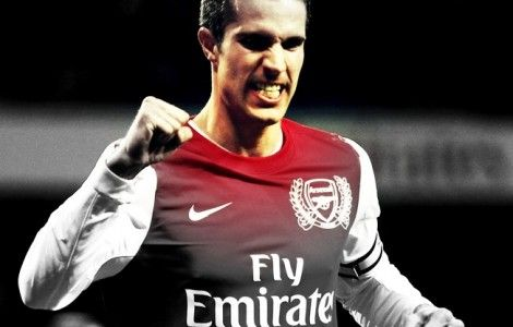 Robin Van Persie Celebration