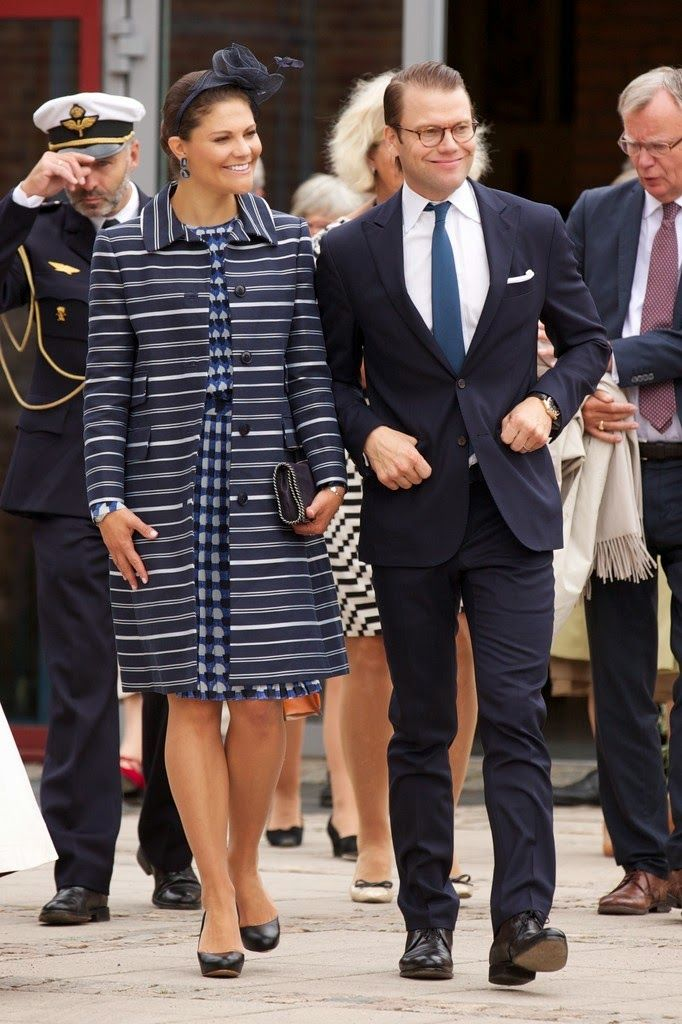 30 August 2014 Crown Princess Victoria and Prince Daniel attended celebrations to mark the 1,000th Anniversary of Skara Diocese on August 30, 2014 in Skara, Sweden