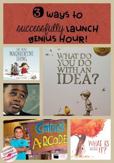 3 Way to Successfully Launch Genius Hour in your Upper Elementary or Middle…                                                                                                                                                                                 More