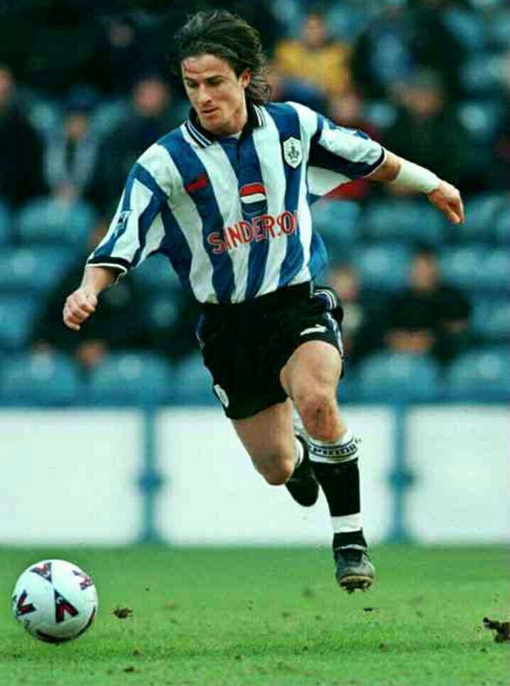 Benito Carbone of Sheffield Wed in 1998.