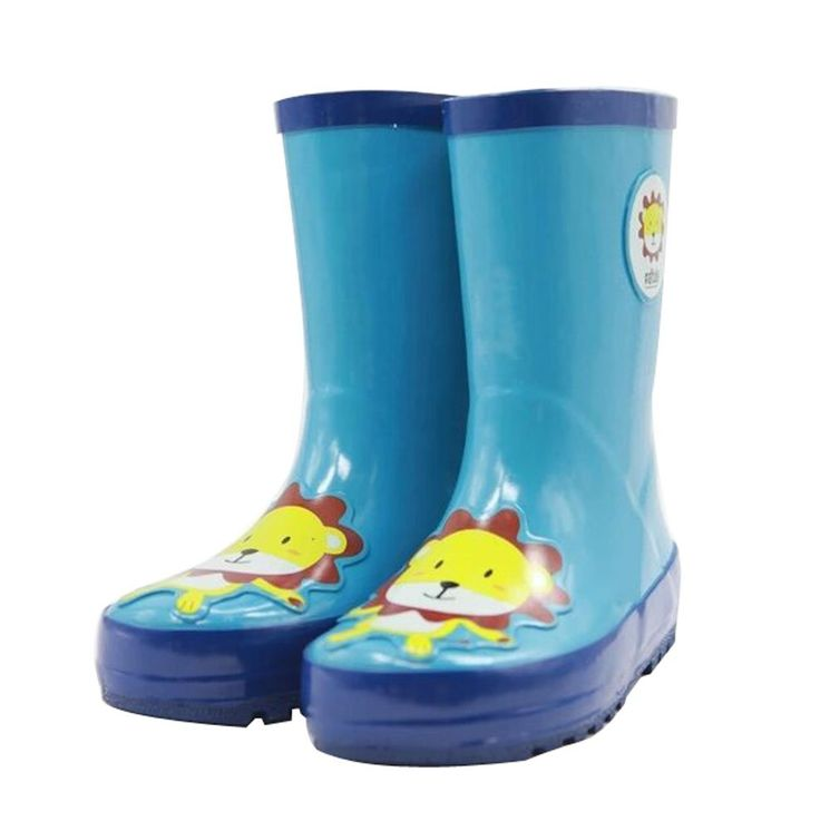 Cute Starry Kids' Rain Boots Blue Lion Children Rainy Days Shoes 22.5CM. Rubber anti-slip rain boot. Color: blue. Size: 22.5cm. Please choose the best fitness size for your baby according to its feet's length. We offer the Highest Quality and Lowest prices Guranteed!!.