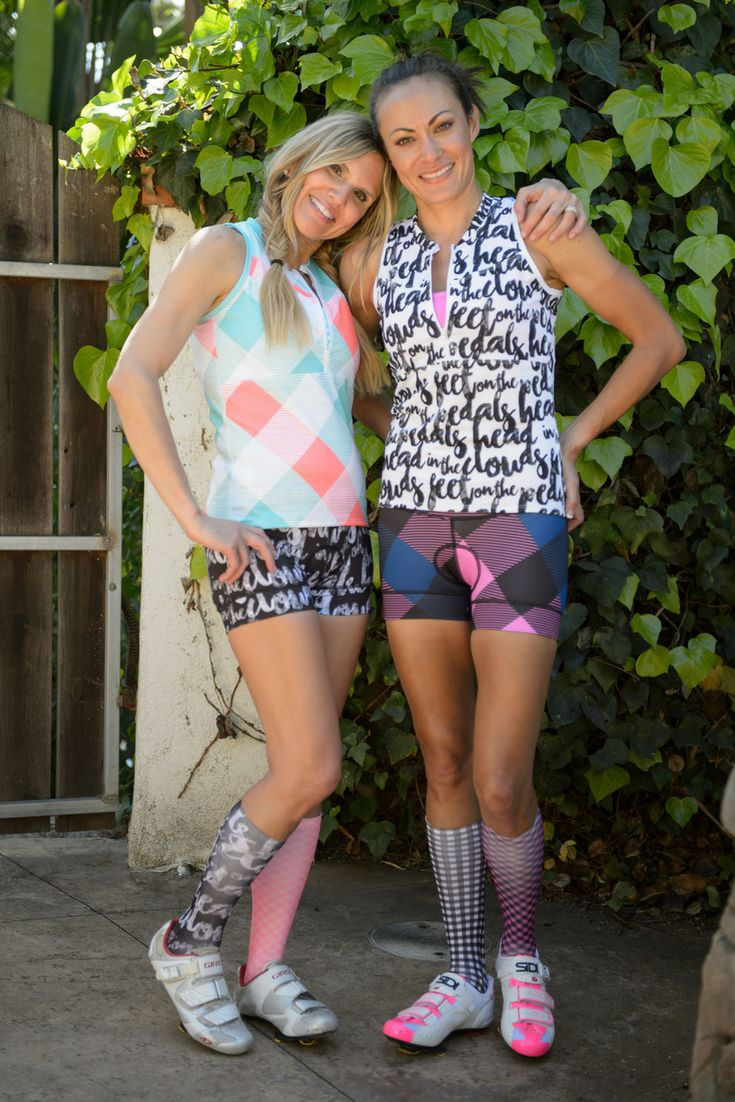 The best women's cycling bibs, bottoms, jerseys, and more! Great for everyday cycling, race events, and triathlons!