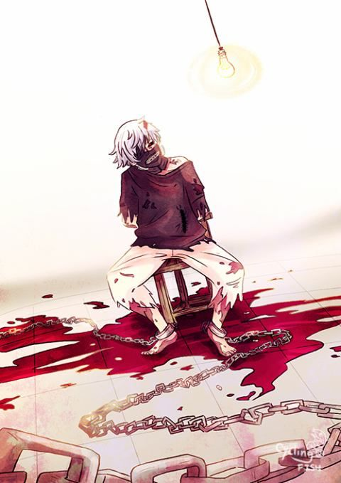 Ken | Tokyo Ghoul (*kidnaps kaneki and runs away somewhere safe from all harm *)