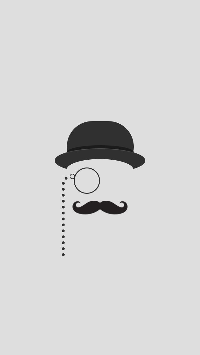 The hairiest month of the year is finally here! Sign up for Movember at www.movember.com / Download more mustache iPhone wallpapers at @prettywallpaper