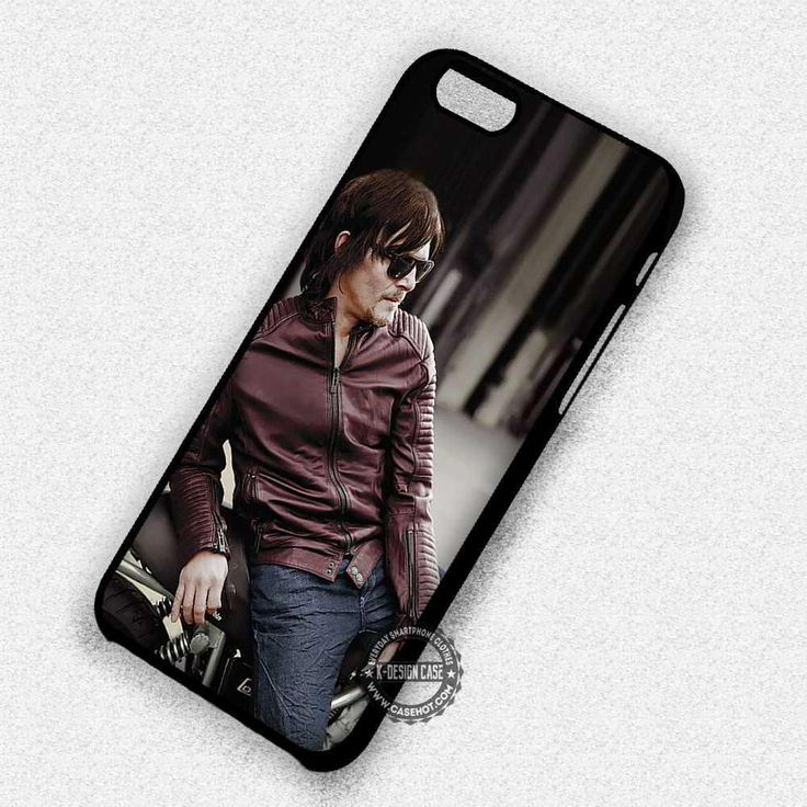 Jacket Motorbike Norman Reedus Walking Dead Daryl Dixon - iPhone 7 6S 5 SE 4 Cases & Covers