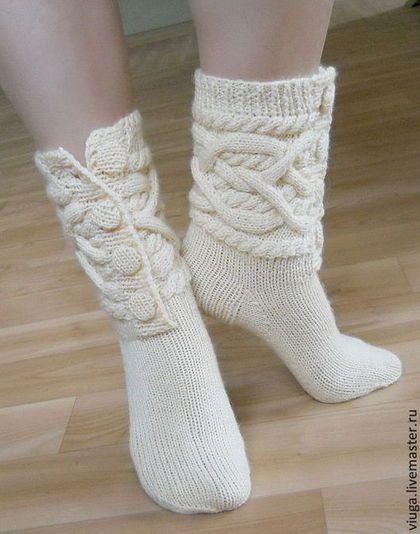носки вязаные, гетры, шерстяные носки, носки для дома, домашняя обувьь, носки для девочки, подарок для девушки, домашняя вязаная шерстяная обувь, сапожки для дома, подарок на Новый год