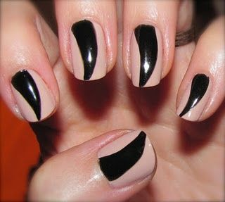 Omg! This is the best idea I've ever heard of for Kitty Nails on Halloween! #hair #beauty