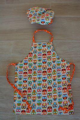Made by Lot: Tutorial kinder keukenschort
