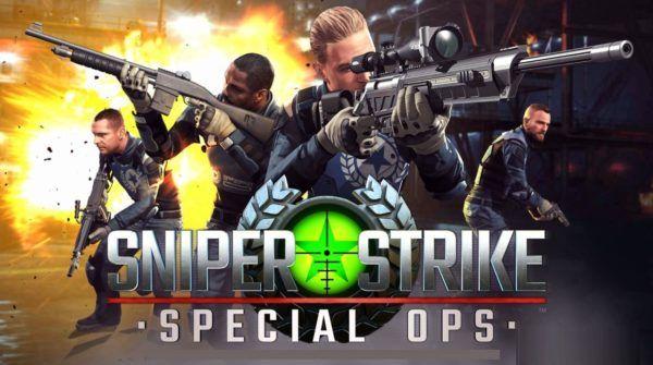 Sniper Strike : Special Ops es un juego de guerra y acción donde junto a tu grupo de compañeros y soldados nos encargaremos de los enemigos con nuestro potente rifle de francotirador, un donde nos enfrentaremos a otros jugadores de todo el mundo en modo Online, con cada victoria podrás mejoras tu armamento y ser cada vez mejor, en definitiva un juego para los amantes de la táctica y la guerra de precisión.
