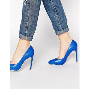 Truffle Collection Alma Blue Pumps
