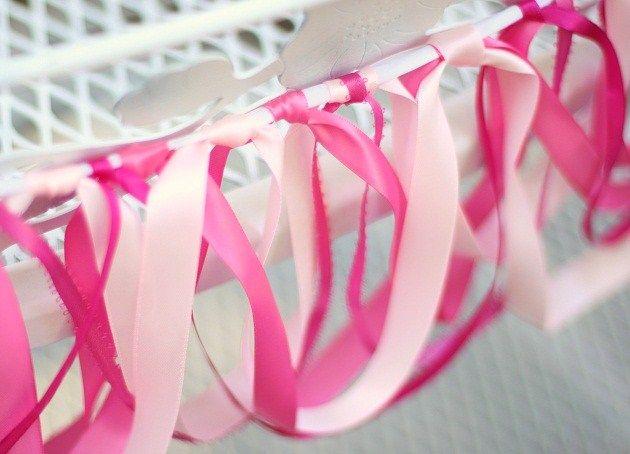diy looped ribbon swag: Tea Party, Ribbon Swag, Looped Ribbon, Wreathswags